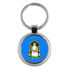 Flag of Mide Key Chains (Round)