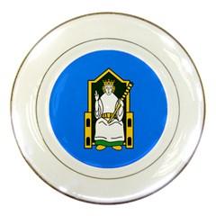 Flag of Mide Porcelain Plates