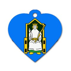 Flag of Mide Dog Tag Heart (Two Sides)