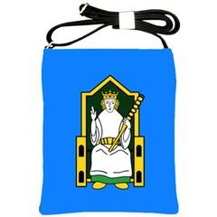 Flag Of Mide Shoulder Sling Bags