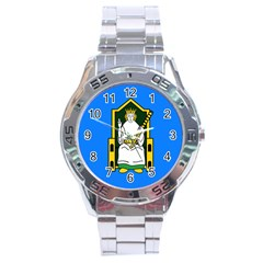 Flag of Mide Stainless Steel Analogue Watch
