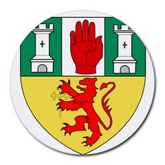 County Antrim Coat of Arms Round Mousepads