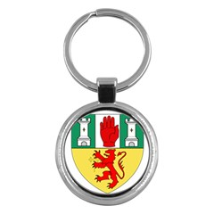 County Antrim Coat of Arms Key Chains (Round)