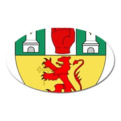 County Antrim Coat of Arms Oval Magnet