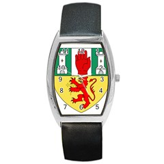 County Antrim Coat of Arms Barrel Style Metal Watch