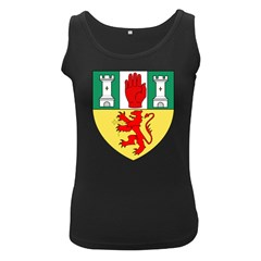 County Antrim Coat of Arms Women s Black Tank Top