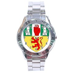 County Antrim Coat of Arms Stainless Steel Analogue Watch