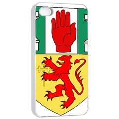 County Antrim Coat of Arms Apple iPhone 4/4s Seamless Case (White)
