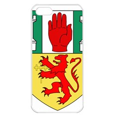 County Antrim Coat of Arms Apple iPhone 5 Seamless Case (White)
