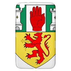 County Antrim Coat Of Arms Samsung Galaxy Tab 3 (8 ) T3100 Hardshell Case