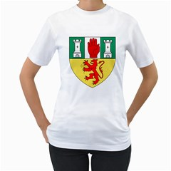 County Antrim Coat of Arms Women s T-Shirt (White)