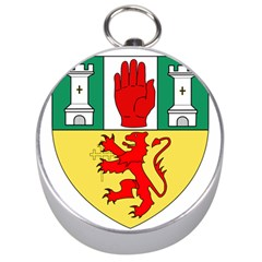 County Antrim Coat of Arms Silver Compasses