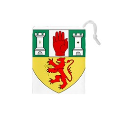 County Antrim Coat of Arms Drawstring Pouches (Small)