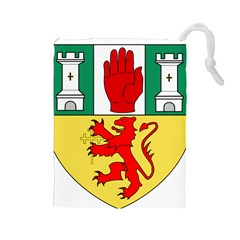 County Antrim Coat of Arms Drawstring Pouches (Large)