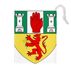 County Antrim Coat of Arms Drawstring Pouches (Extra Large)
