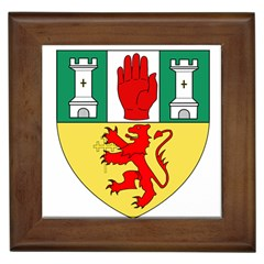 County Antrim Coat of Arms Framed Tiles