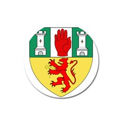 County Antrim Coat of Arms Magnet 3  (Round)