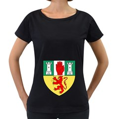 County Antrim Coat of Arms Women s Loose-Fit T-Shirt (Black)