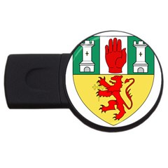 County Antrim Coat of Arms USB Flash Drive Round (4 GB)