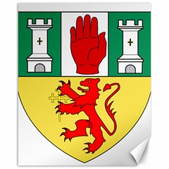 County Antrim Coat of Arms Canvas 16  x 20