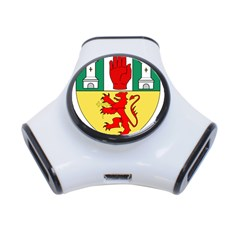 County Antrim Coat of Arms 3-Port USB Hub