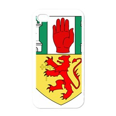 County Antrim Coat of Arms Apple iPhone 4 Case (White)
