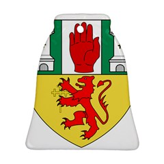 County Antrim Coat of Arms Bell Ornament (Two Sides)