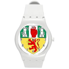 County Antrim Coat of Arms Round Plastic Sport Watch (M)