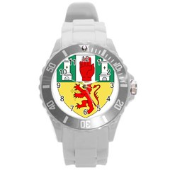 County Antrim Coat Of Arms Round Plastic Sport Watch (l)