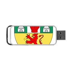 County Antrim Coat of Arms Portable USB Flash (Two Sides)
