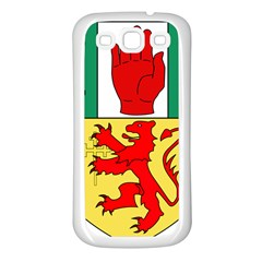County Antrim Coat of Arms Samsung Galaxy S3 Back Case (White)