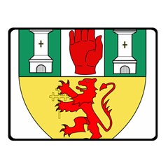 County Antrim Coat of Arms Double Sided Fleece Blanket (Small)