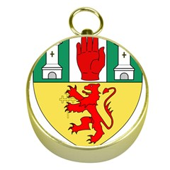 County Antrim Coat of Arms Gold Compasses
