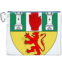 County Antrim Coat of Arms Canvas Cosmetic Bag (XXXL)