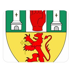 County Antrim Coat of Arms Double Sided Flano Blanket (Large)