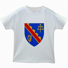 County Armagh Coat of Arms Kids White T-Shirts