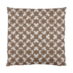 Stylized Leaves Floral Collage Standard Cushion Case (One Side)