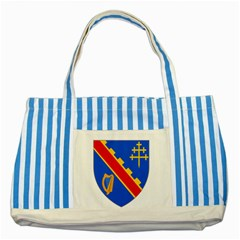 County Armagh Coat of Arms Striped Blue Tote Bag
