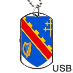 County Armagh Coat of Arms Dog Tag USB Flash (Two Sides)