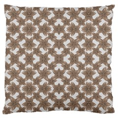 Stylized Leaves Floral Collage Large Cushion Case (Two Sides)