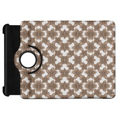 Stylized Leaves Floral Collage Kindle Fire HD 7