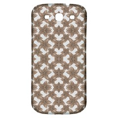 Stylized Leaves Floral Collage Samsung Galaxy S3 S III Classic Hardshell Back Case