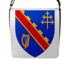 County Armagh Coat of Arms Flap Messenger Bag (L)