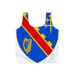 County Armagh Coat of Arms Full Print Recycle Bags (S)