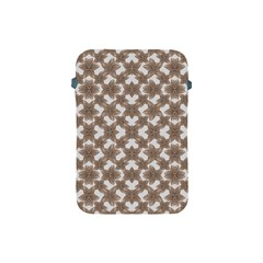 Stylized Leaves Floral Collage Apple iPad Mini Protective Soft Cases