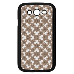 Stylized Leaves Floral Collage Samsung Galaxy Grand Duos I9082 Case (black)