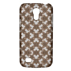 Stylized Leaves Floral Collage Galaxy S4 Mini