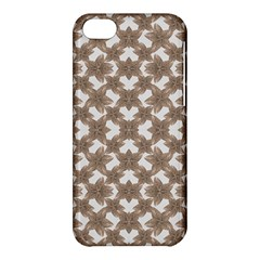 Stylized Leaves Floral Collage Apple iPhone 5C Hardshell Case