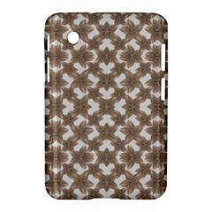 Stylized Leaves Floral Collage Samsung Galaxy Tab 2 (7 ) P3100 Hardshell Case