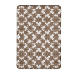 Stylized Leaves Floral Collage Samsung Galaxy Tab 2 (10.1 ) P5100 Hardshell Case